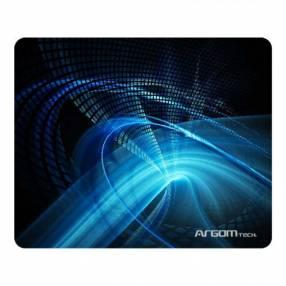 Mouse pad Argom ARG-AC-1235BL PAD 8.5X10'' azul/negro