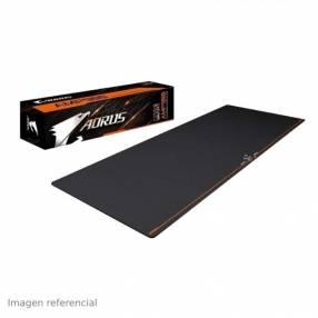 Mouse pad Gigabyte AMP900 negro/naranja