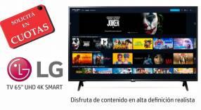 Smart tv led LG 65 pulgadas 4K UHD