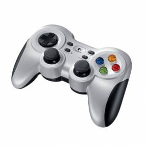 Gamepad Logitech 940-000117 F710 WIR Plata