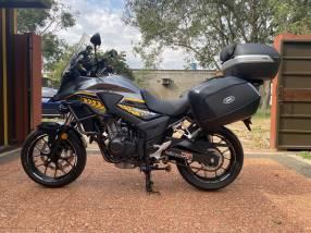 Moto Honda CB500X 2018