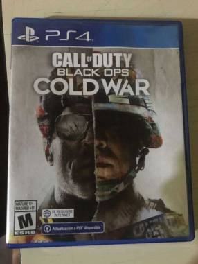 Call Of Duty Cold War para PS4