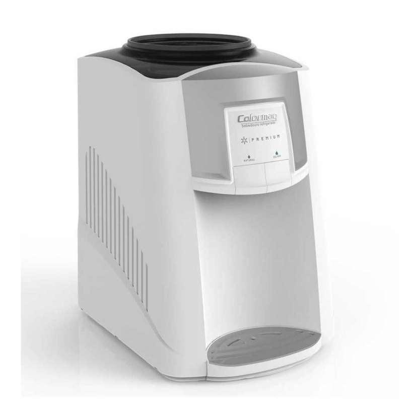Bebedero refrigerador de agua colormaq blanco (30051) - 1