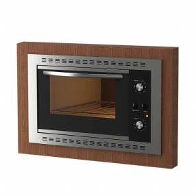 Horno de empotrar f450 45 litros fogatti inox negro (30068)