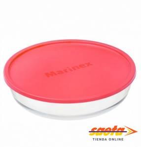 Asadera Marinex redonda con tapa plástica color REF: 6495