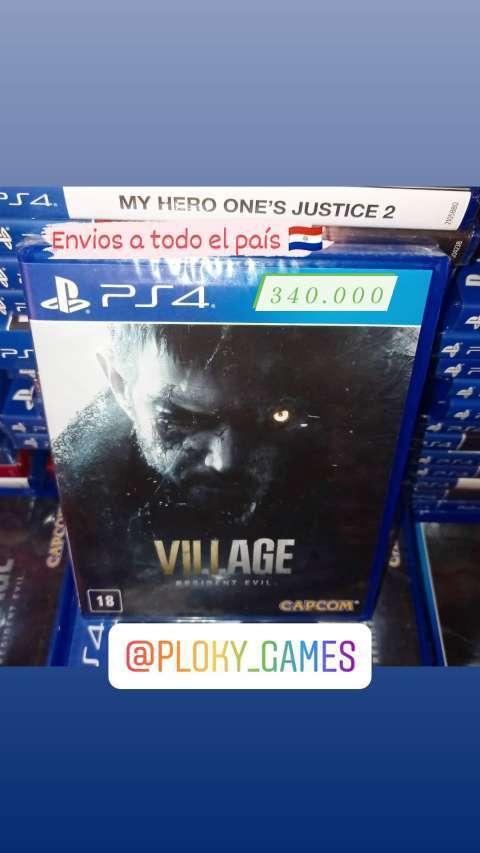 Resident Evil 8 Village para PS4 - 0