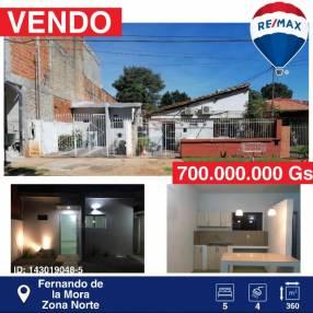 Casa en Fernando de la Mora zona Norte