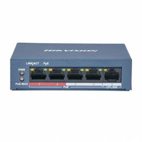 Switch POE HIKVISION 4P+1P DS-3E0105P-E/M 10/100