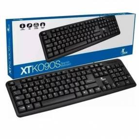 Teclado español negro usb Xtech XTK-092S