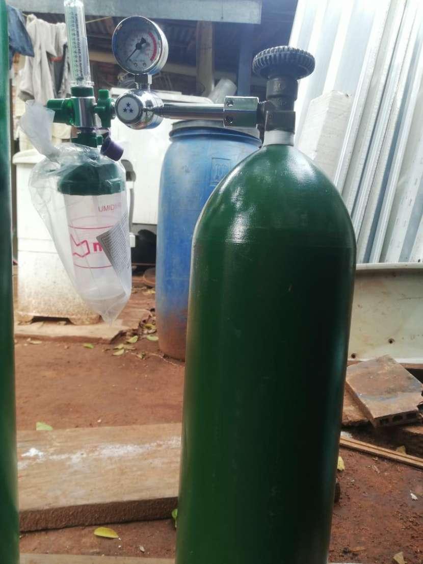 Tubo de oxígeno de 2 metros cúbicos - 0
