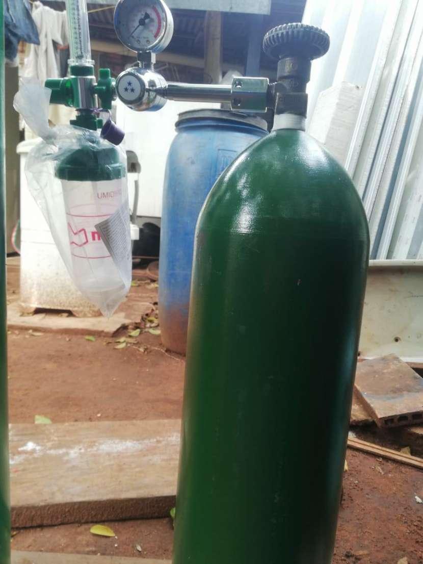 Tubo de oxígeno de 2 metros cúbicos - 1