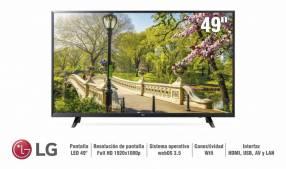 Televisor Smart LED LG 49 pulgadas FHD