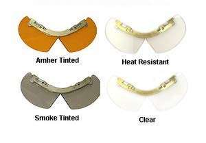 Bourkes protector facial para casco de bombero - 1