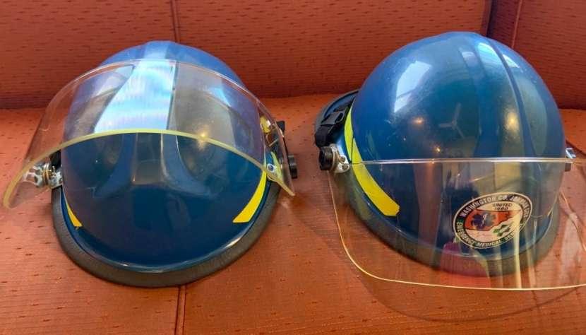 Casco Bullard Firedome PX color azul - 8