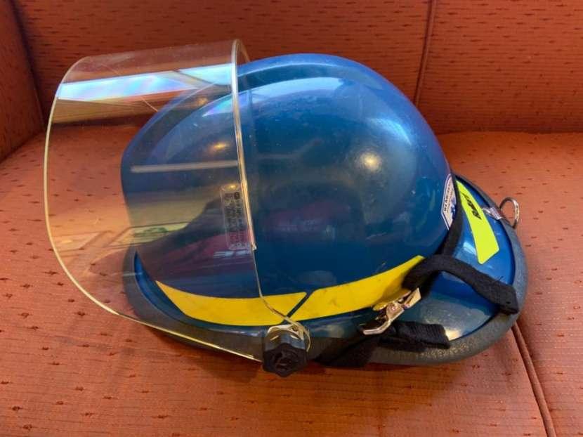 Casco Bullard Firedome PX color azul - 6