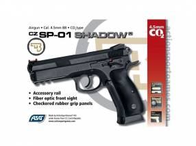 Pistola Airsoft 380 fps co2