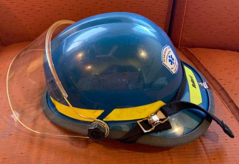Casco Bullard Firedome PX color azul - 1