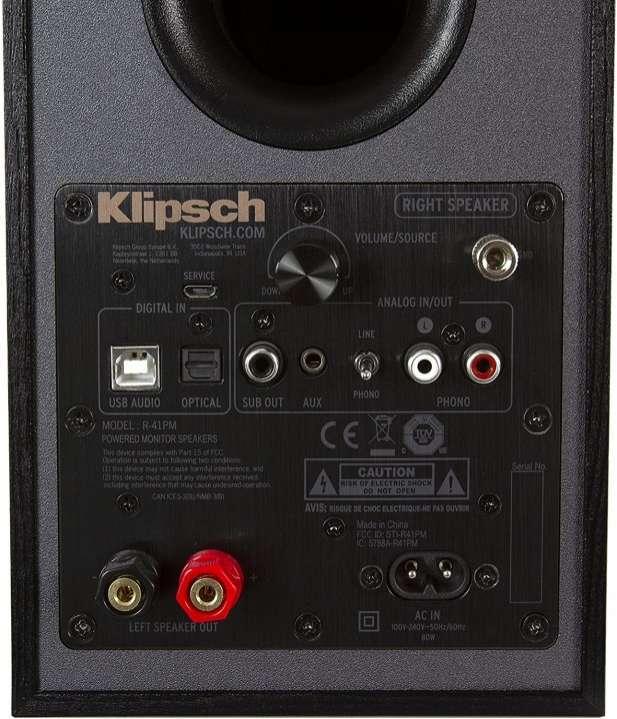 Speaker Monitor Klipsch Reference R-41PM Wireles Bluetooth - 3