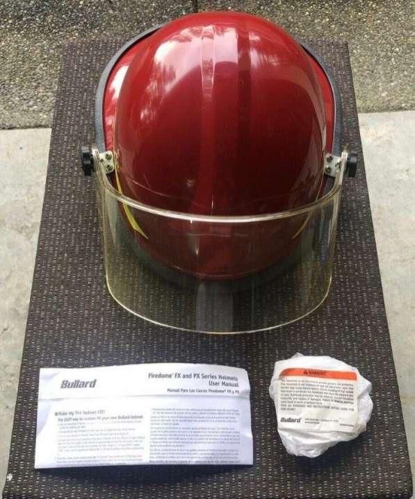 Casco Bullard Firedome PX rojo - 8