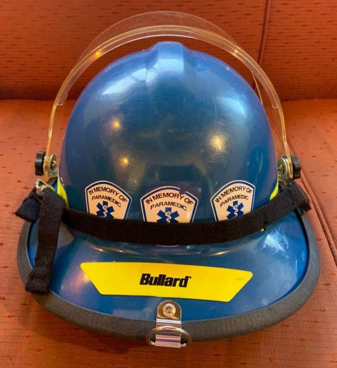 Casco Bullard Firedome PX color azul - 5