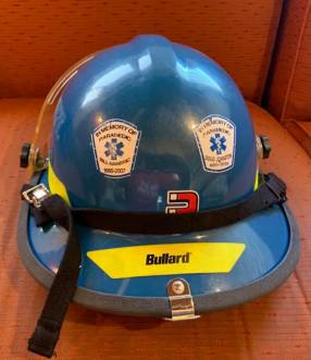 Casco Bullard Firedome PX color azul