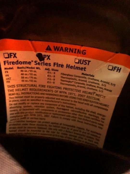 Casco Bullard Firedome PX rojo - 7