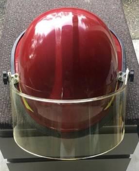 Casco Bullard Firedome PX rojo