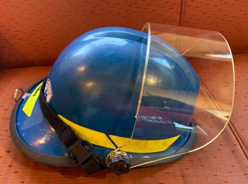 Casco Bullard Firedome PX color azul - 4