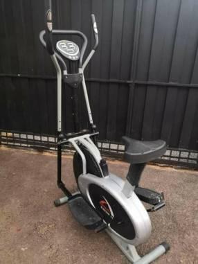 Bicicleta elíptica Athletic para ejercicios