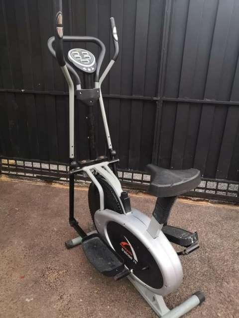 Bicicleta elíptica Athletic para ejercicios - 0