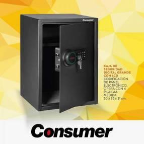 Caja fuerte de seguridad digital grande con LCD