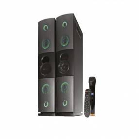 Speaker negro Klip KFS-600 2800W Dueto usb bluetooth fm jack 3.5mm