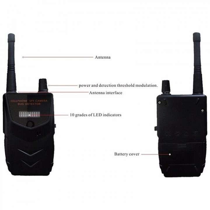 Detector de dispositivos de espionaje y escucha - 6