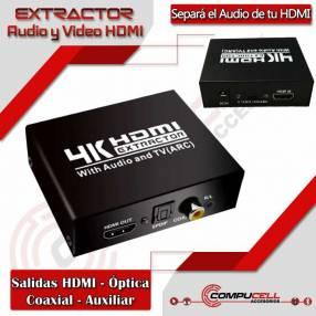 Extractor de audio y video HDMI