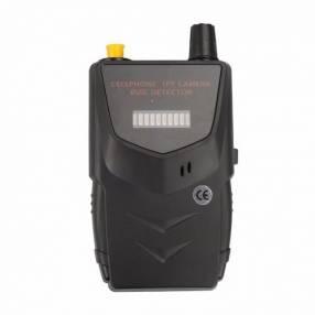 Detector de dispositivos de espionaje y escucha