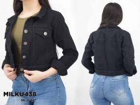 Campera de jeans para dama MILKU438