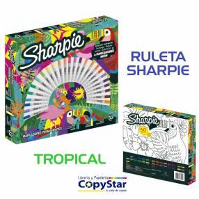 Ruleta Tropical Sharpie