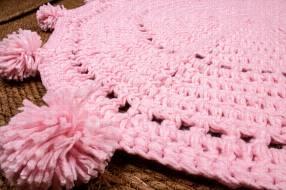 Alfombra de lana 82x82cm