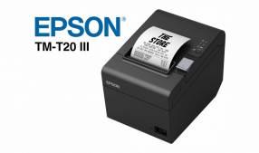 Impresora Epson TM-T20III EDG USB/Serial Térmica