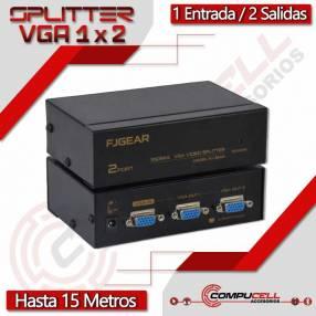 Splitter VGA 350MHz 1x2 2K 1080p