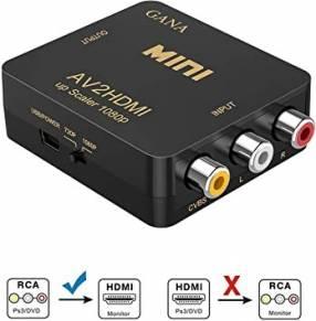 Adaptador AV RCA a HDMI