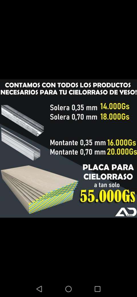 Cielorraso PVC - 0