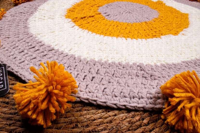 Alfombra de lana 85x85cm - 1