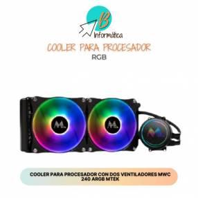 Cooler Liquido MTEK ARGB MWC-240 - 240MM