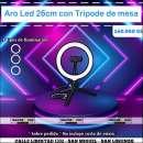 Aro de luz LED de 26 cm - 0