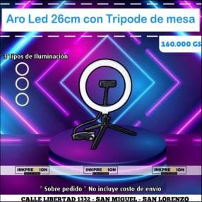 Aro de luz LED de 26 cm