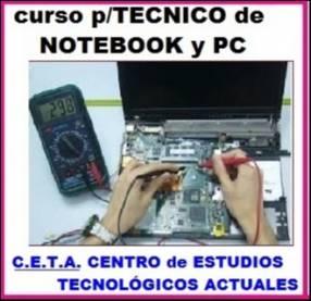 Curso p/ técnico de notebook y PC