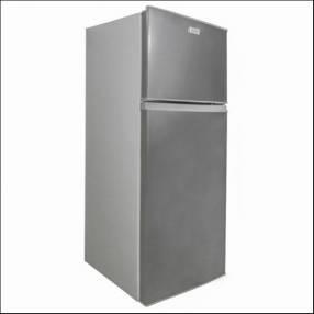Heladera Mabe RMC215 frío húmedo 2 puertas 204 litros plata oscuro 3798