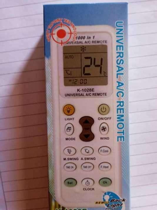 Control universal para aire acondicionado - 0