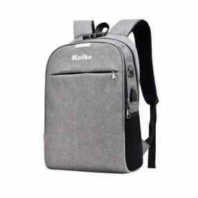 Mochila Kolke KVM-339 con candado gris claro 10186